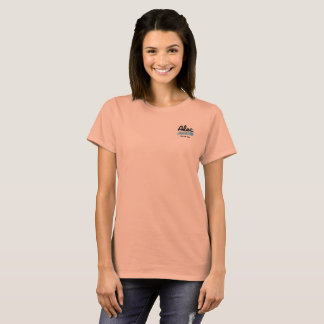 On The Rise Salmon Womens T-Shirt