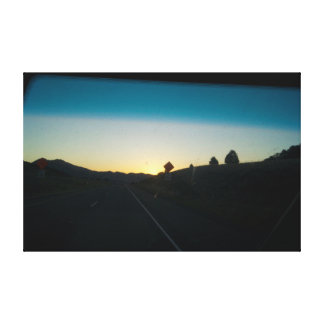 On the road again, canvas prints