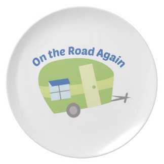 On The Road Again Party Plates