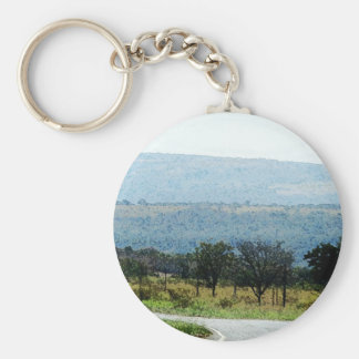 On the Road to Curitiba Key Chain