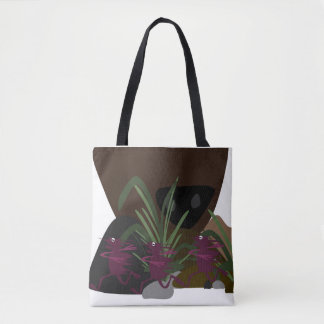 On the Run. Tote Bag