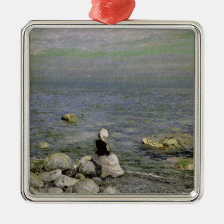 On the Shore of the Black Sea, 1890s Christmas Ornament