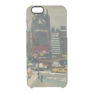 On the sidewalk 2012 clear iPhone 6/6S case
