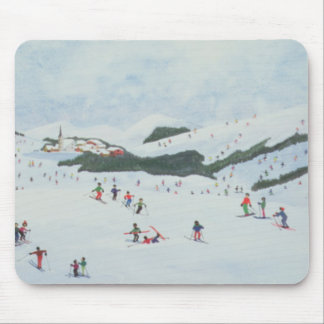 On the Slopes 1995 Mouse Pad