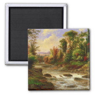 On the St Annes East Canada by Duncanson Fridge Magnets