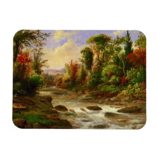 On the St Annes East Canada by Duncanson Vinyl Magnet