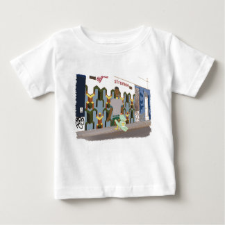 On the street, cute animals illustration baby T-Shirt