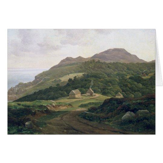 On the Swedish Coast, 1828 Card