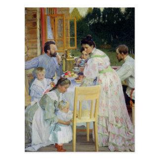 On the Terrace, 1906 Postcard