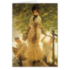 On The Thames by James Tissot, Vintage Realism Card