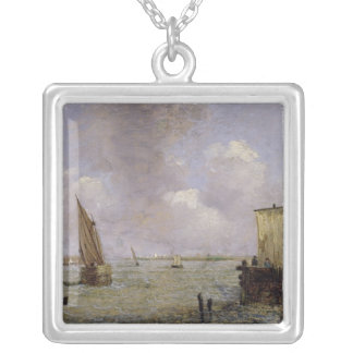 On the Thames Silver Plated Necklace