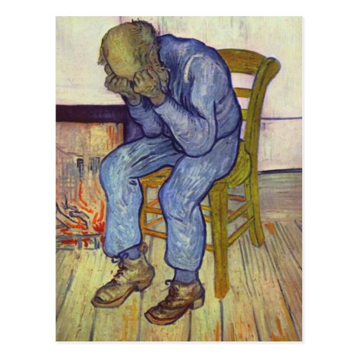 On the Threshold of Eternity - Vincent Van Gogh Post Cards