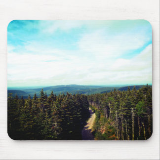 On the Top of The Mountain Mouse Mat