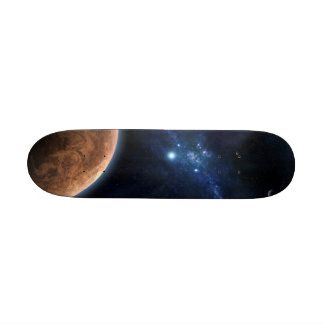 On the top of the universe 21.6 cm old school skateboard deck