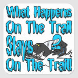 On The Trail Stickers