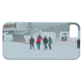 On the way to the ski lift iPhone 5 cover