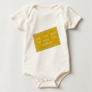 on the way,… ton lake the world baby bodysuit