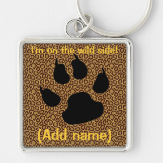 On the Wild Side Keychain