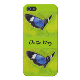 On the Wings aceo Butterfly IPhone 4 Case