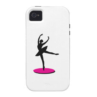 On Toe Ballerina Vibe iPhone 4 Covers