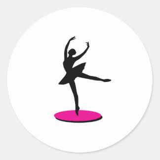 On Toe Ballerina Stickers