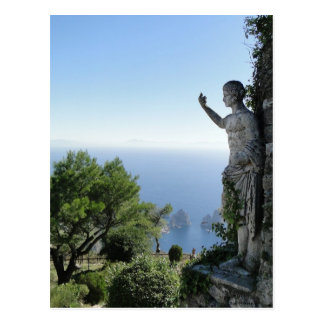 On Top of Capri Postcard