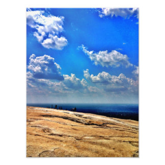 On Top Of Stone Mountain Photographic Print