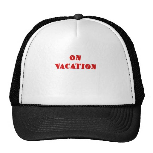 On Vacation Mesh Hat