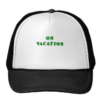 On Vacation Trucker Hat