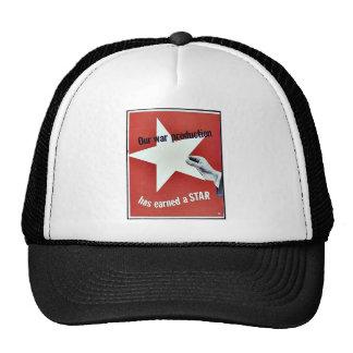 On War Production Has Earned A Star Trucker Hats
