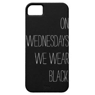 On Wednesdays We Wear Black iPhone 5 Case
