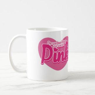 On Wednesdays we wear pink Basic White Mug