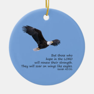 On Wings Like Eagles Ornament