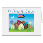 "ON YOUR ""1st EASTER"" Card"