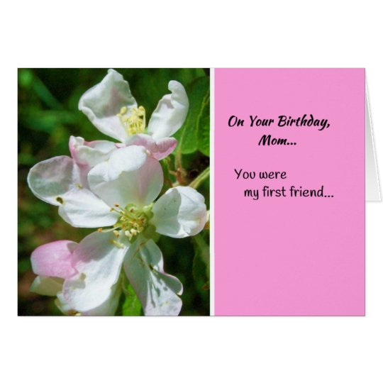 On Your Birthday, Mum Card