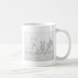 On your marks basic white mug
