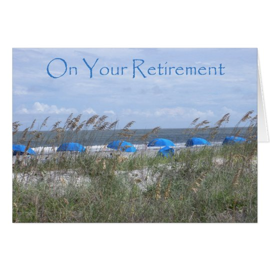 On Your Retirement Doctor - Beach and Umbrellas