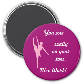On Your Toes Custom Magnet