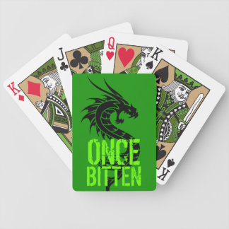 Once Bitten Dragonsnake Playing cards