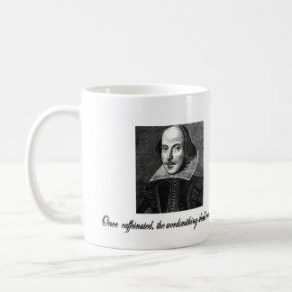 Once Caffeinated the Wordsmithing Shall Commence Coffee Mug