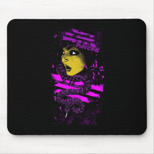 Once, I lived In Darkness Mousepad