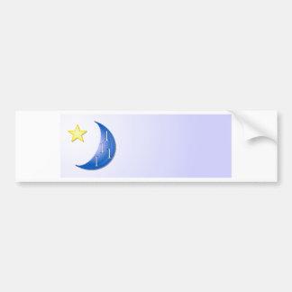 Once in a Blue Moon Bumper Sticker