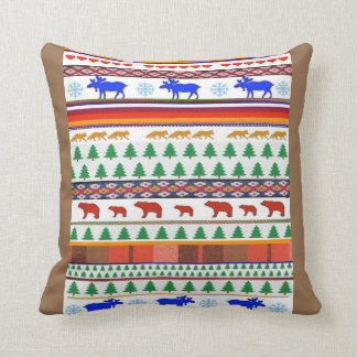 Once in a Blue Moose and Friends - Pillow