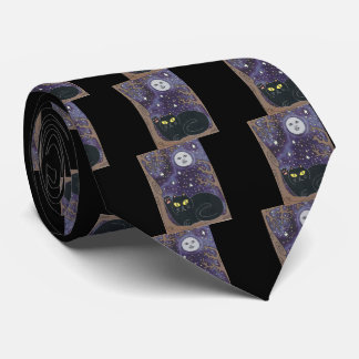 Once in a Lucky Blue Moon Tie