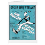 Once In Love With Amy Songbook Cover Greeting Card