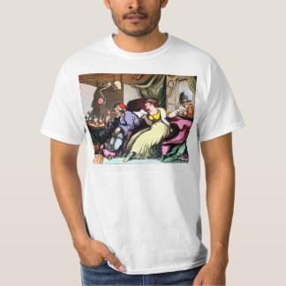 Once the Old Fool has Drank his Wine T-shirt