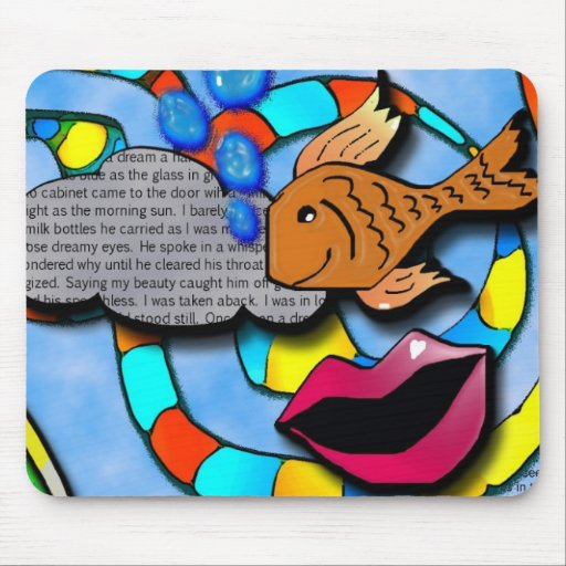 once upon a dream mouse mat