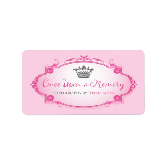 Once Upon a Memory | Custom Address Label