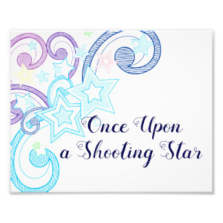 Once Upon a Shooting Star Photo Art