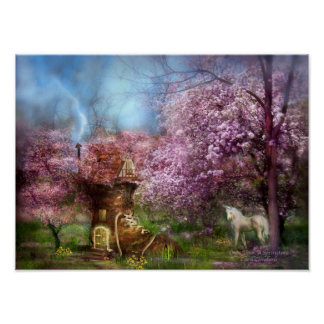 Once Upon A Springtime Art Poster/Print Poster